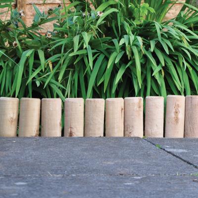 15cm (6in) Log Roll Garden Edging