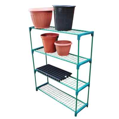 4 Shelf Greenhouse Staging