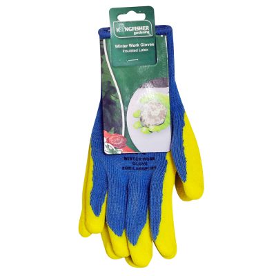 Insulated latex Work Glove