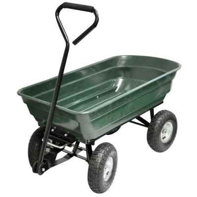 4 Wheel Tipping Action Garden Cart
