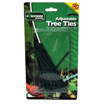 40 Adjustable Tree/ Plant Ties