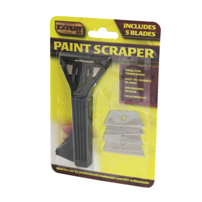 Window Paint Scraper with 6 Blades