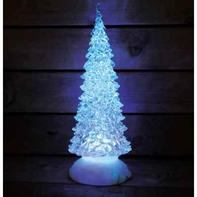 Christmas Tree Glitter Globe