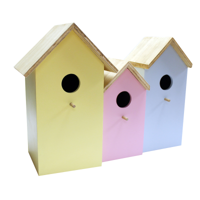 3 in 1 Wooden Nesting Box