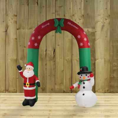 2.4m Inflatable Christmas Arch
