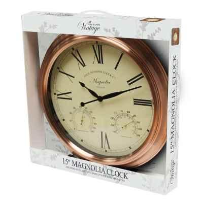 15 Inch Magnolia Clock