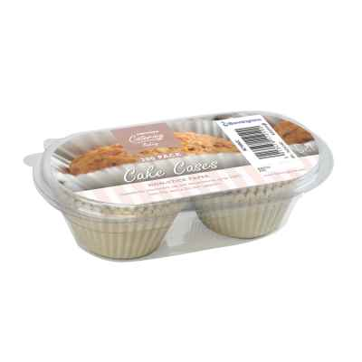 200 Pack of Cake Cases