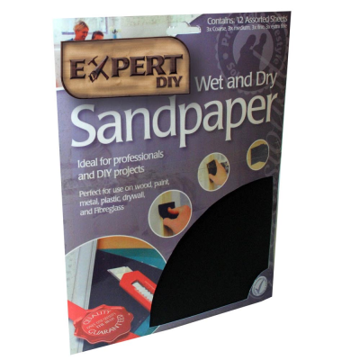 8 Pack Wet Sandpaper