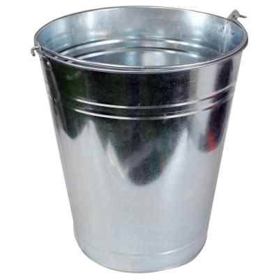 9L Galvanised Bucket
