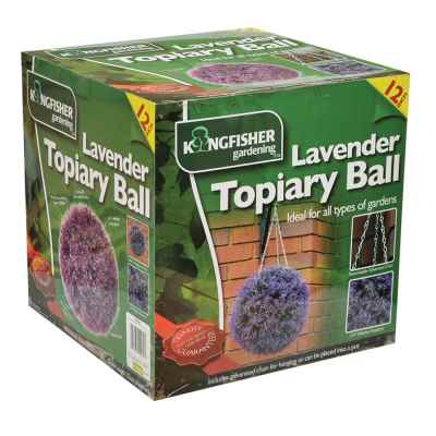 Lavender Topiary Ball (27cm)
