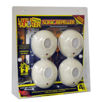 4 Pack Sonic Electronic mouse and Rat Repellers