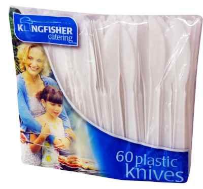 60 Pack Plastc Knives