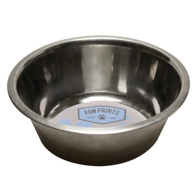 25cm 2000ml Stainless Steel Dog Bowl