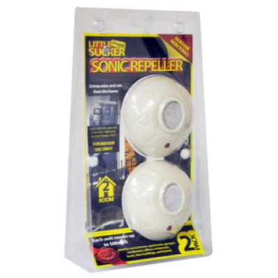 2 Pack Sonic Electronic Mouse and Rat Repellers