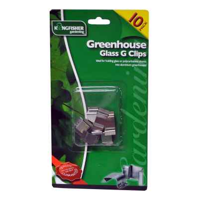 15 Pack of Overlap Z Greenhouse Glass Clips