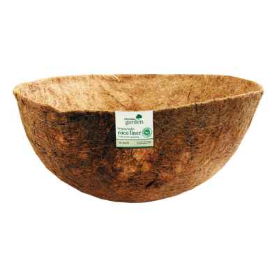 16 Inch Bowl Shaped Coco Hanging Basket Liner