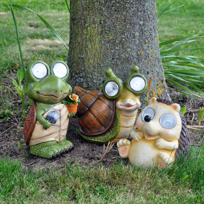 Solar Powered Garden Animal Lights