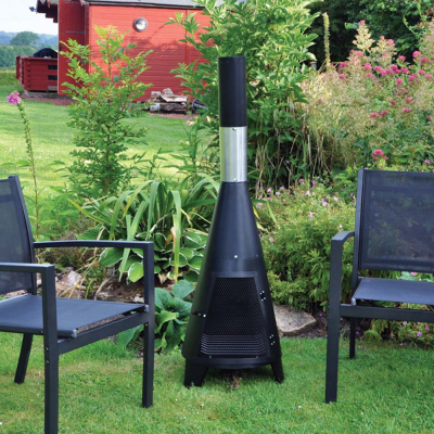 Small Tower Chiminea