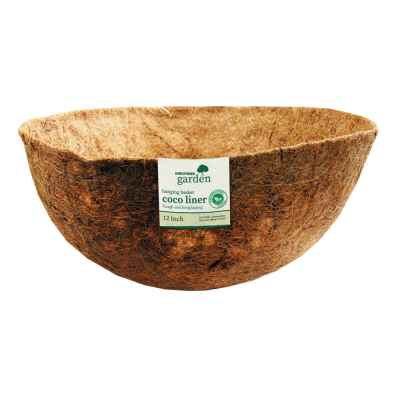 12 Inch Bowl Shaped Coco Hanging Basket Liner