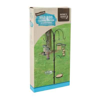 Premium Hammertone Bird Feeding Station