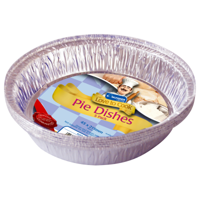 5 Pack of Large Foil Pie Dishes