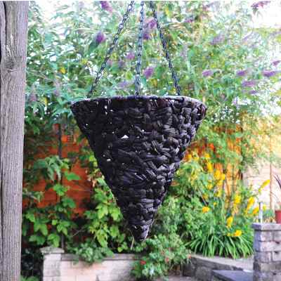 12 Inch Cone Hanging Basket