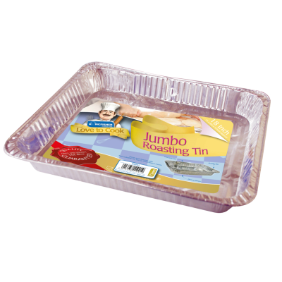 Jumbo Foil Rectangular Roasting Tray