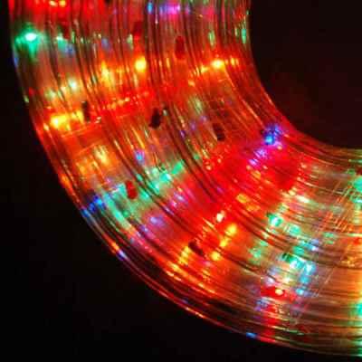10m Multi Coloured Multi Action Rope Light