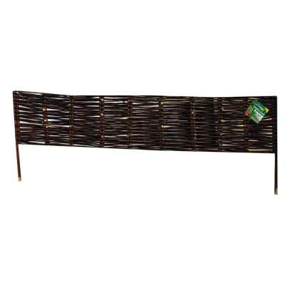 20cm x1m Willow Garden Edging Panel