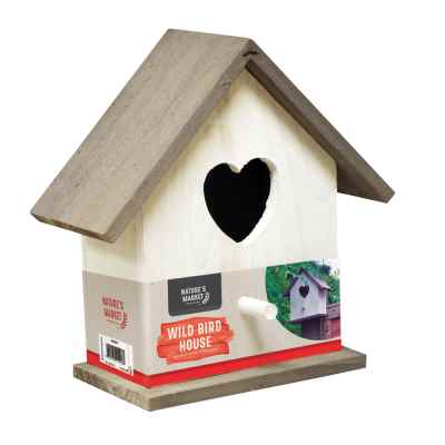 White Wooden Nesting Box