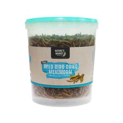 100g Tub Dried Mealworms Wild Bird Feed [NOT EU]