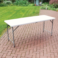 6ft Plastic Folding Table