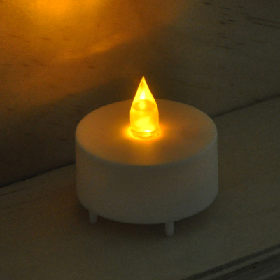 4 Pack Battery Operated Flickering Tea Light