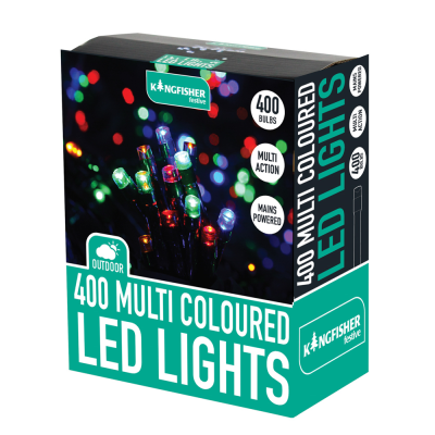 400 Multi Action Multi Colour LED