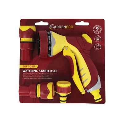 Garden Pro 4 Pcs Soft grip Spray Gun Set