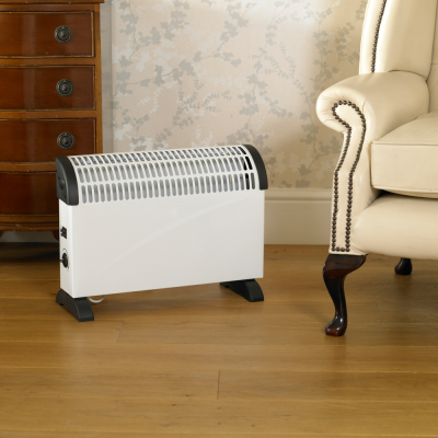 2000w White Convection Heater