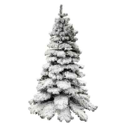 7ft (210cm) Premium Snow Effect Christmas Tree