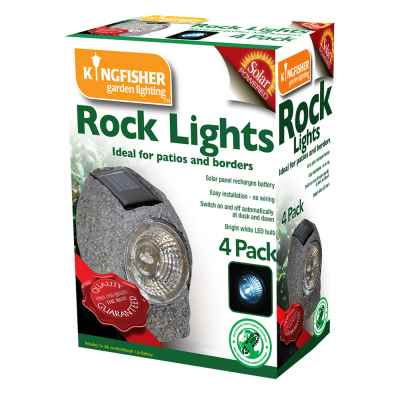 4 Pack Solar Rock Lights