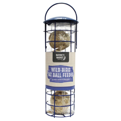 Suet Fat Ball Feeder with 4 Suet Fat Balls