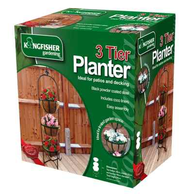 3 Tier Basket Planter