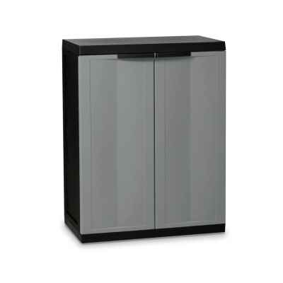 Medium Garden Storage Cabinet Dark Grey