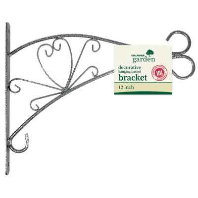 12 Inch Decorative Hanging Basket Bracket