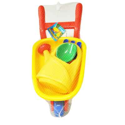 Childrens Wheelbarrow Gardening Set