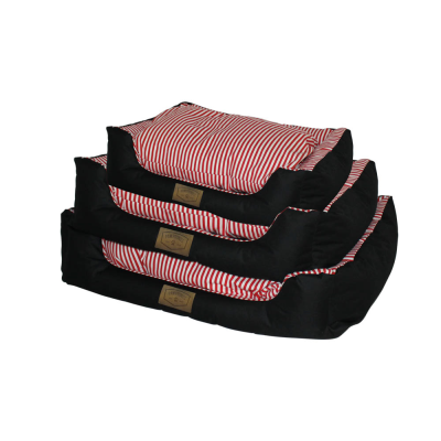 Set of 3 Pet Bed Striped