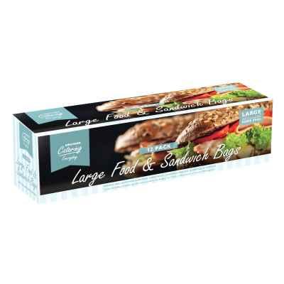 12 Pack Large Resealable Slide Plastic Food Bags