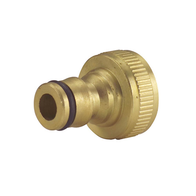 Pro Platinum Brass Threaded Tap Connector