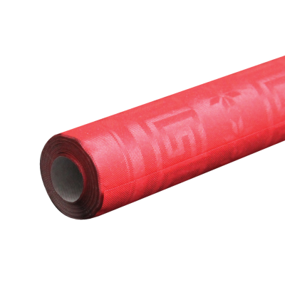 7m Red Paper Banqueting Roll
