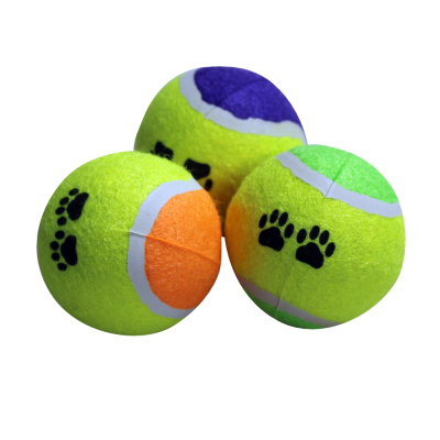 3 Pack Dog Toy Tennis Balls