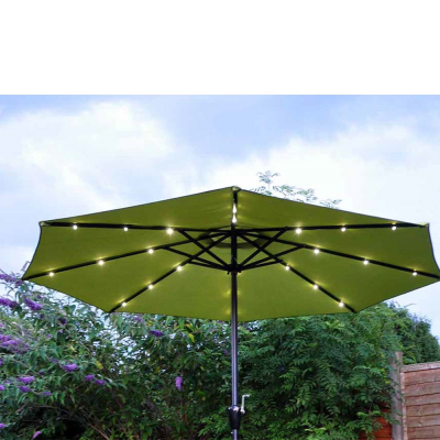 Solar LED Parasol