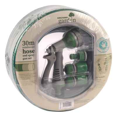 30m Hose and Spray Gun Set